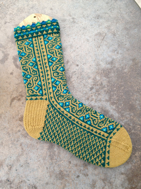 labyrinthine sock
