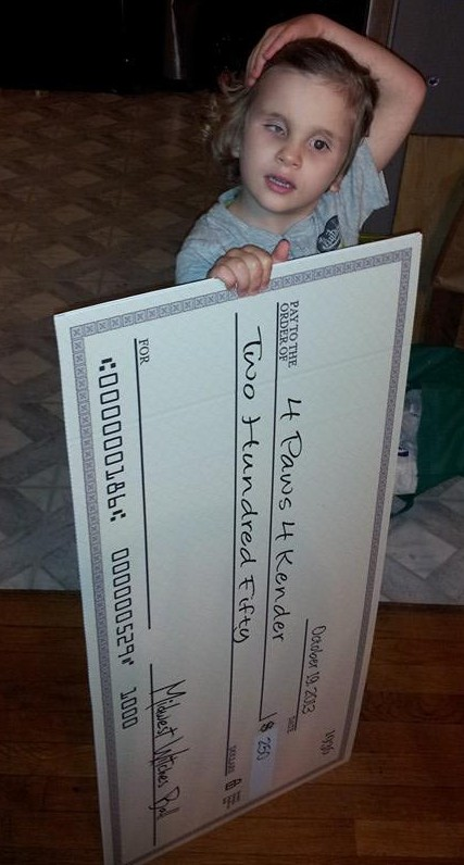 20131025 Kender's big check