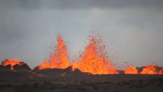 Current eruption in Holuhraun.