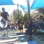 Nothing like being right in the middle of a Tartanic performance!